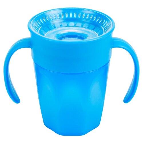 Чашка-непроливайка Cheers 360 с ручками, 200 мл синий, Dr. Brown's, Поильники  - купить со скидкой