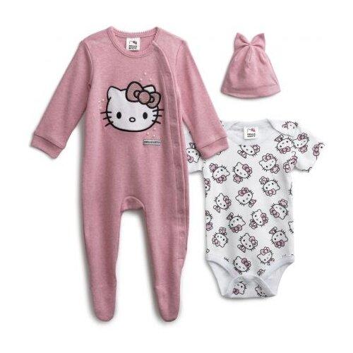Комплект одежды playToday размер 56, белый/розовый/светло-розовыйКомплекты<br>