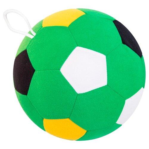 Купить Погремушка Мякиши Мяч футбольный 442 зеленый, Погремушки и прорезыватели