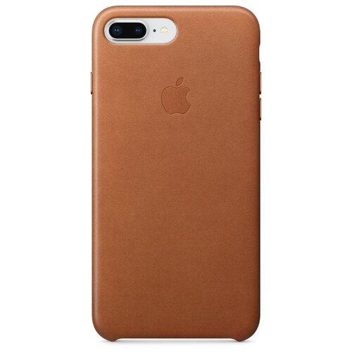 Купить Чехол Apple кожаный для iPhone 8 Plus / 7 Plus Saddle Brown