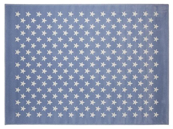 Lorena Canals Ковер Звезды Stars 120х160 Голубой/Белый