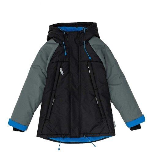 Купить Куртка Button Blue Active 220BBBA41020800 размер 128, черный, Куртки и пуховики