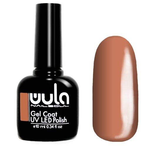 Гель-лак для ногтей WULA Gel Coat, 10 мл, оттенок 493 карамельно-бежевый гель лак patrisa nail dream pink 8 мл оттенок n3 бежевый