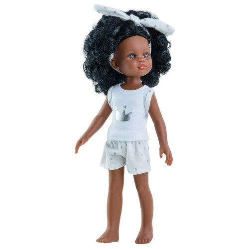 Кукла Paola Reina Нора с кудрявыми волосами, в пижаме, 32 см, 13205, Куклы и пупсы  - купить со скидкой