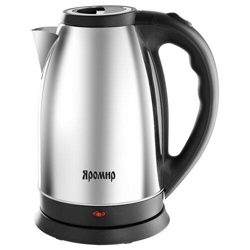 Чайник Яромир ЯР-1056, черный глянцевый чайник электрический яромир яр 1056