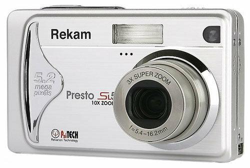 Фотоаппарат Rekam Presto-SL5