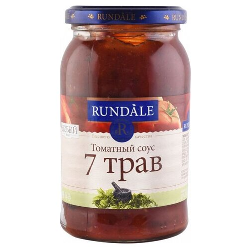 Соус Rundale Томатный 7 трав, 420 гСоусы<br>