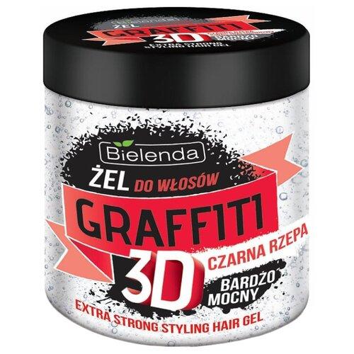 Bielenda GRAFFITI 3D гель для волос Mocny Z Czarn? Rzep? 250 млГели и лосьоны<br>