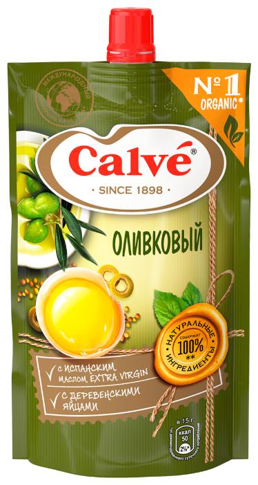 Майонезный соус Calve Оливковый с испанским маслом Extra Vergin 35% 390 г