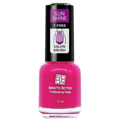 Лак Brigitte Bottier Sun Shine 12 мл. розовый сочныйЛак для ногтей<br>