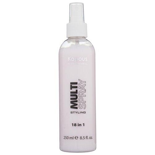 Kapous Professional Спрей для укладки волос Multi spray, слабая фиксация, 250 мл clubman спрей для укладки волос supreme hair spray 237 мл