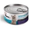 Корм для кошек 1st Choice Adult для здоровья кожи и шерсти, для вывода шерсти, с тунцом, с тилапией и с ананасом 85 г (кусочки в соусе)
