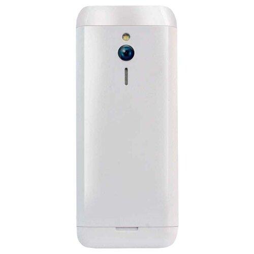 Телефон Ginzzu M108D белый сотовый телефон ginzzu m108d dual black