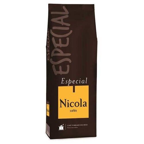 Кофе в зернах Nicola Especial, арабика/робуста, 1000 г кофе зерновой nicola especial
