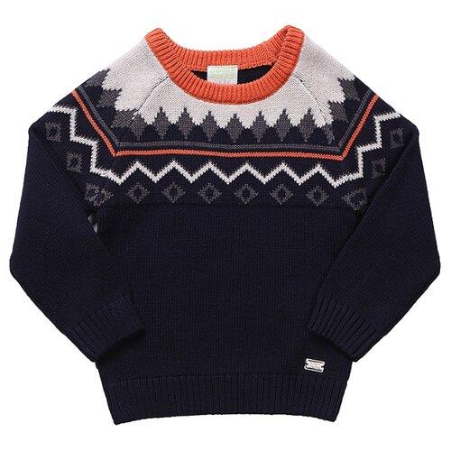 Джемпер Sweet Berry размер 86, бежевый/синий джемпер для новорожденных babyglory superstar цвет синий ss001 09 размер 86