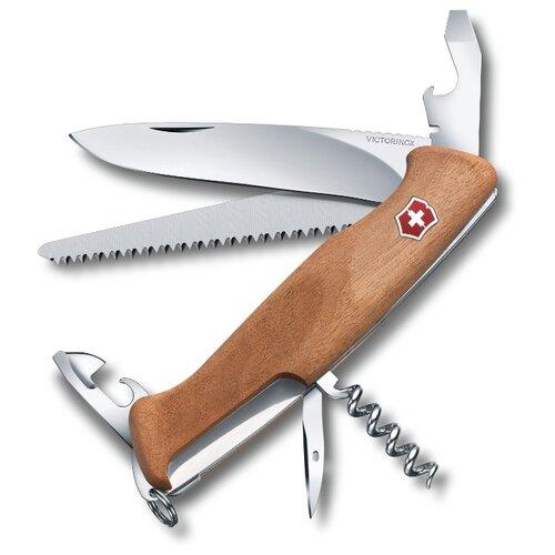 Нож многофункциональный VICTORINOX RangerWood 55 (10 функций) коричневый rangerwood