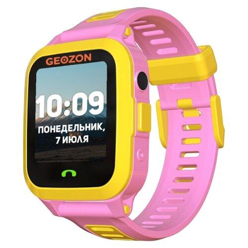 Детские умные часы c GPS GEOZON ACTIVE розовый детские умные часы c gps geozon active розовый