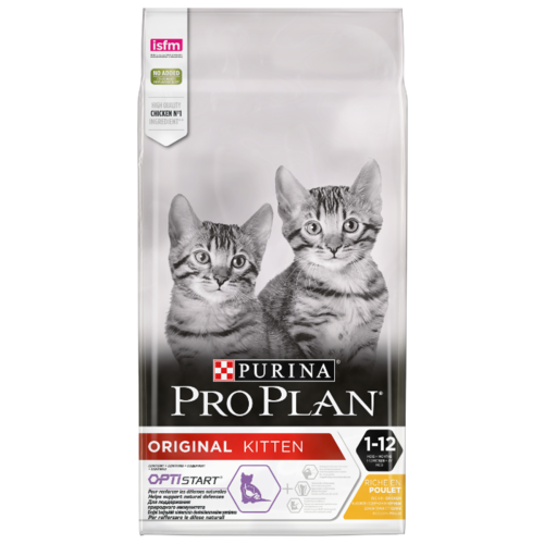Сухой корм для котят Pro Plan Junior, с курицей 10 кг