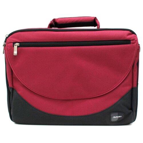 Фото - Сумка Sumdex PON-302 15.6 красный/черный сумка sumdex impulse notebook