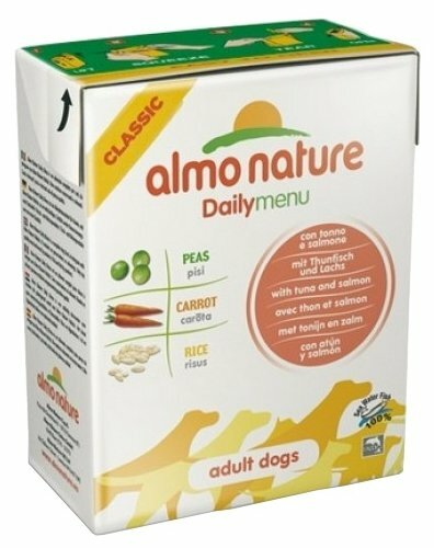 Корм для собак Almo Nature Daily Menu тунец, лосось 375г