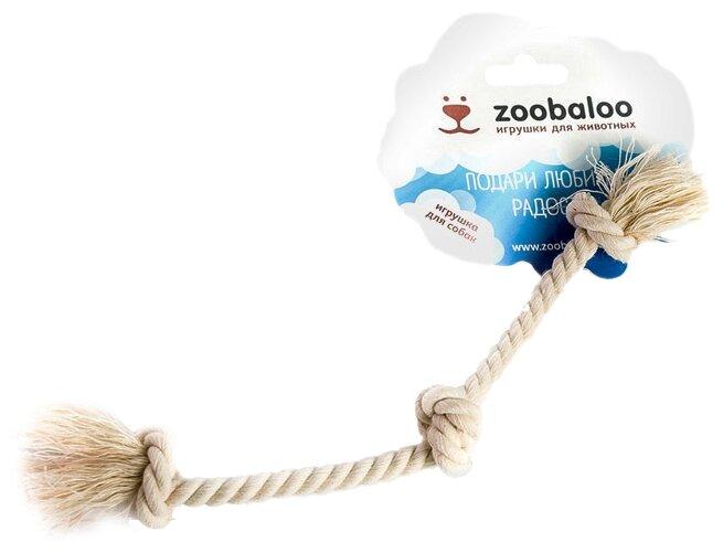 Канат для собак Zoobaloo Грейфер Три узла 21см