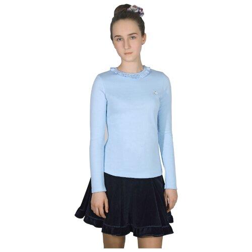 Блузка Снег размер 158, голубойРубашки и блузы<br>
