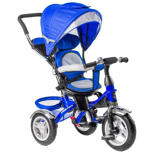 Трехколесный велосипед BlackAqua 5566-6 синийТрехколесные велосипеды<br>