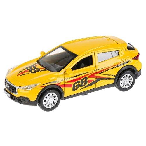 Купить Легковой автомобиль ТЕХНОПАРК Infiniti QX30 Спорт (QX30-S-SL) 12 см желтый, Машинки и техника