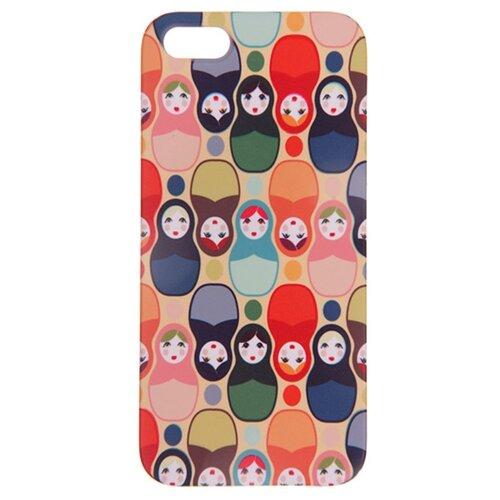 Купить Чехол Mitya Veselkov IP5.МITYA-035 для Apple iPhone 5/iPhone 5S/iPhone SE матрешки