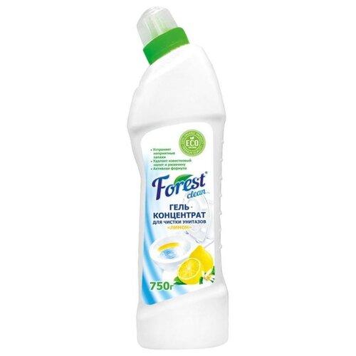 Forest Clean гель-концентрат для чистки унитазов Лимон 0.75 кгДля кафеля, сантехники и труб<br>