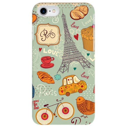 Чехол Mitya Veselkov IP7.MITYA-016 для Apple iPhone 7/iPhone 8 Сладкий Париж
