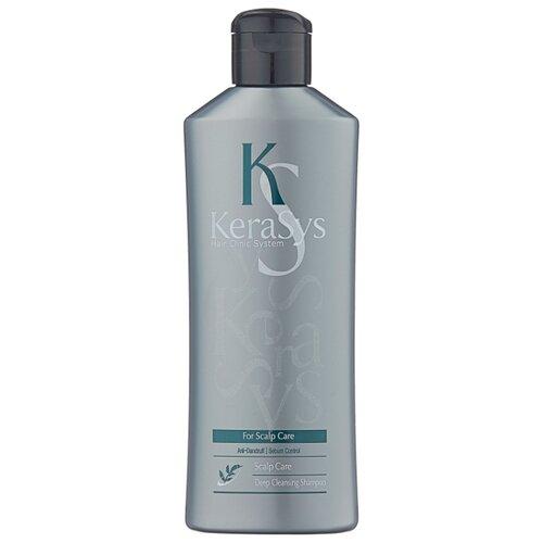 KeraSys шампунь For Scalp Care Deep Cleansing Anti-Dandruff Лечение кожи головы Освежающий 180 мл освежающий шампунь для кожи головы hair clinic scalp care deep cleansing shampoo шампунь 180мл