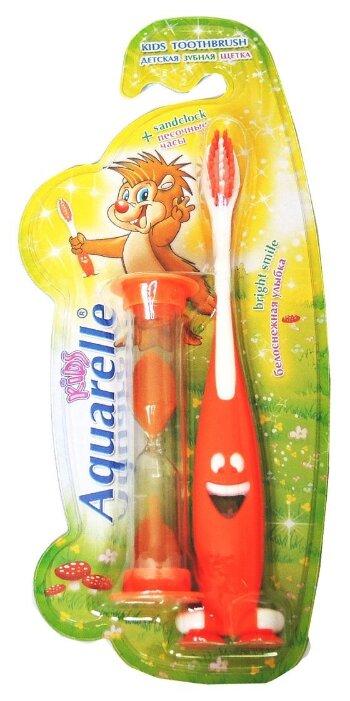 Зубная щетка Aquarelle Kids c песочными часами 3+