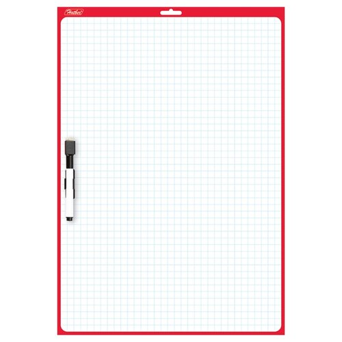 Доска для рисования Hatber двухсторонняя с маркером (SMn_03010)Доски и мольберты<br>