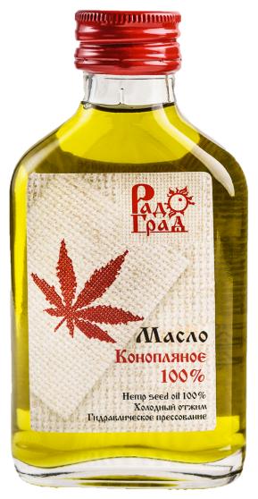 Масло конопляное 100мл (Радоград)