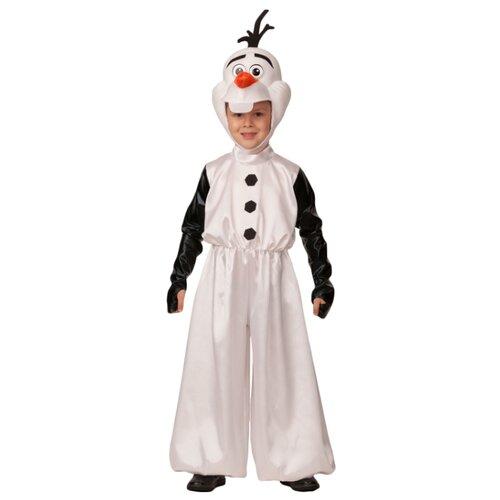 Купить Костюм Батик Олаф (531), белый/черный, размер 140, Карнавальные костюмы