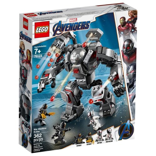 Конструктор LEGO Marvel Super Heroes 76124 Воитель game deals nintendo switch lego marvel super heroes 2