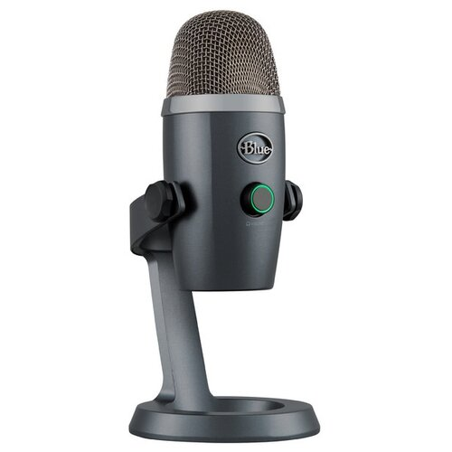 Микрофон Blue Yeti nano, shadow grey