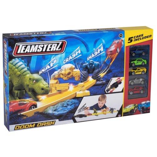 Трек HTI Teamsterz Doom Dash (5 машинок) трек hti teamsterz rapid fire 5