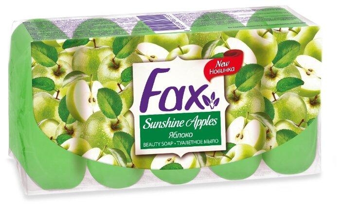 Мыло кусковое Fax Яблоко