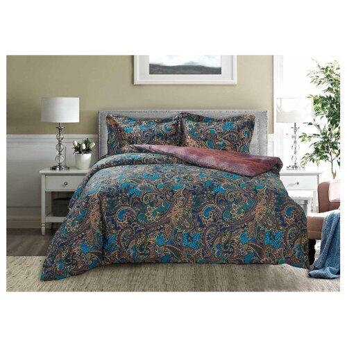 Постельное белье 1.5-спальное Selena Paisley Сказочная ночь, сатинКомплекты<br>