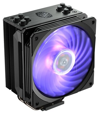 Кулер для процессора Cooler Master Hyper 212 RGB Black Edition