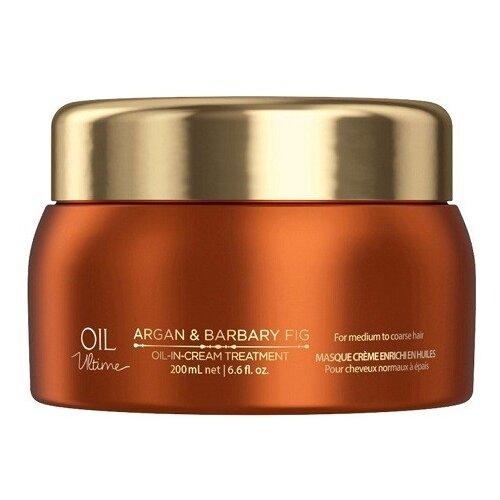 Oil Ultime Маска для жестких и средних волос Oil-in-Cream Treatment, 200 мл four reasons маска для волос toning treatment coffee 200 мл