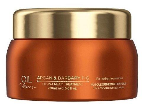 Oil Ultime Маска для жестких и средних волос Oil-in-Cream Treatment