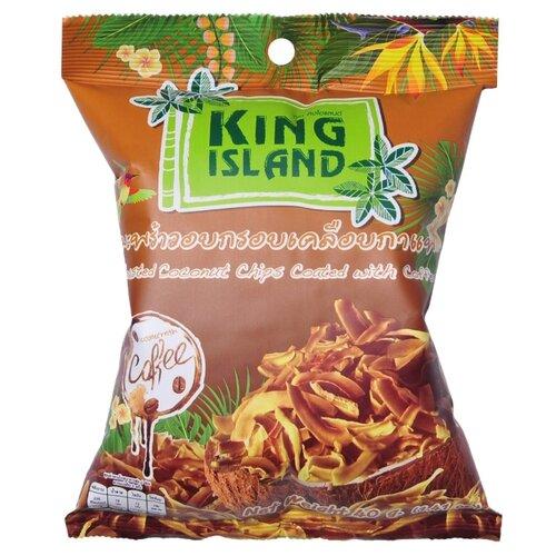Чипсы King Island кокосовые в