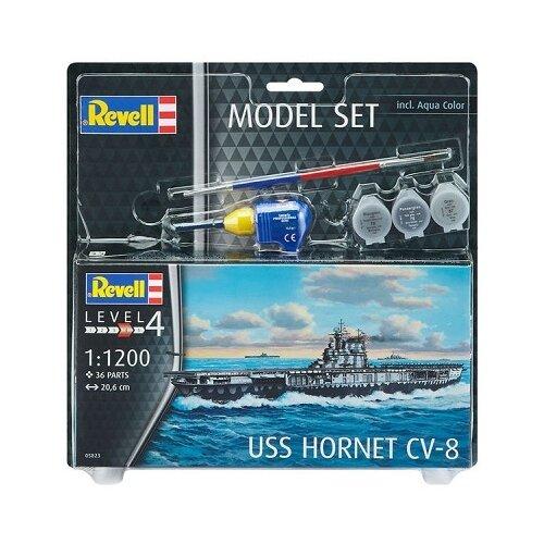 Купить Сборная модель Revell USS Hornet CV-8 (65823) 1:1200, Сборные модели