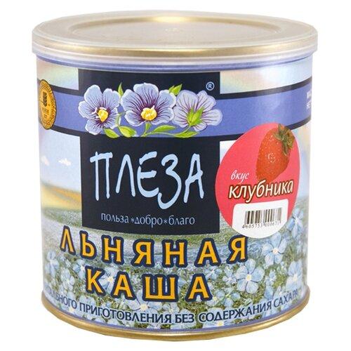 Фото - ПЛЕЗА Каша льняная вкус Клубника, 400 г наша льняная каша смородиновая 400 г