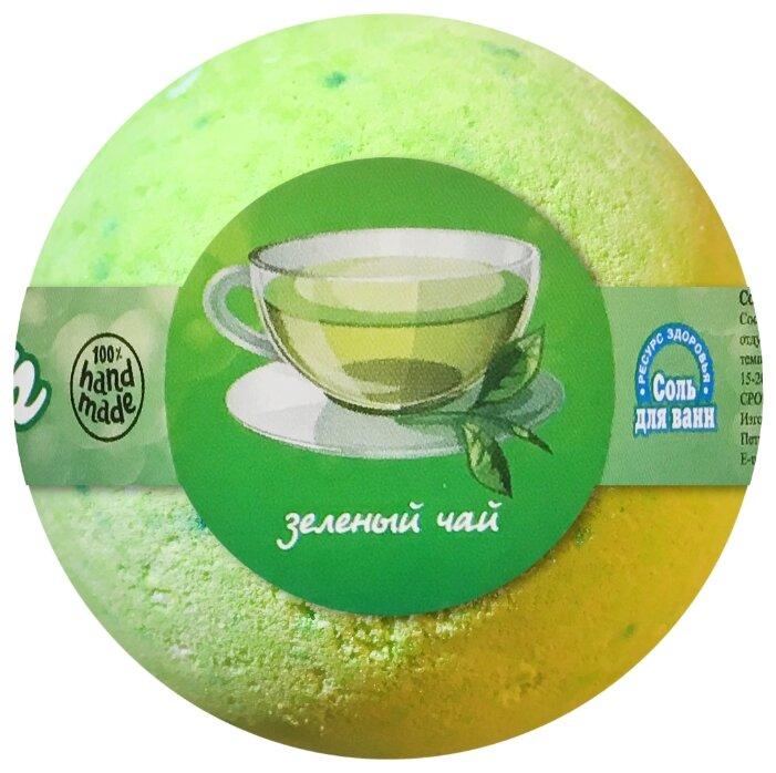 Купить Ресурс Здоровья Бурлящий шар Зелёный чай, 120 г по низкой цене с доставкой из Яндекс.Маркета (бывший Беру)