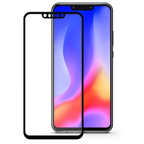Защитное стекло Mobius 3D Full Cover Premium Tempered Glass для Huawei Nova 3 черный cover case for huawei nova 3 new litchi leather skin luxury pc hard