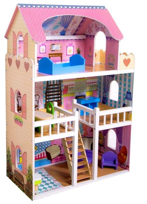 SunnyToy кукольный домик Варя